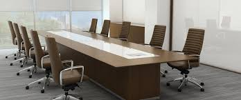 custom office tables. Conference-table-brownchairs-958h Custom Office Tables W