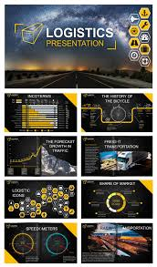 Design For Logistics Ppt Logistics Powerpoint Template By Creative Art Studio On