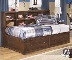 Bookcase Bedroom Furniture Ashley Furniture Delburne Bookcase Studio Storage Bed For Boys