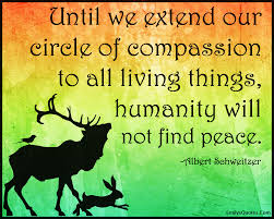Circle Of Life Inspirational Quotes EmilysQuotesCom extend circle compassion living things life 9 23196
