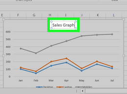 how to make a line graph in microsoft excel