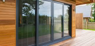 kawneer aluminium twin track sliding patio doors