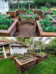 how to build a u shaped raised garden bed 3