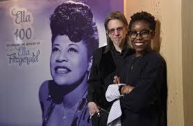 <b>Ella Fitzgerald's</b> 100th birthday marked with Grammy exhibit