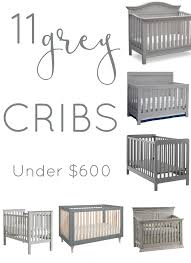 gray nursery furniture. 11 affordable grey cribs furniture ideas for the nursery gray