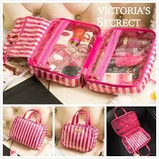 free pose victoria 39 s secret pink cosmetic bag make up wash bag set