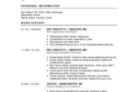 Wondrous Writing A Resume Good Example Tags Resume Writer Online