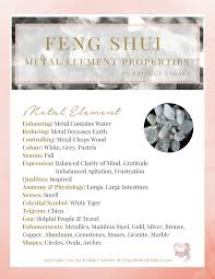 water feng shui element infographics. The Feng Shui Metal Element Water Feng Shui Element Infographics