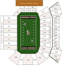 Oregon State Football Seating Chart Oregon State Beavers 2017 Football Schedule