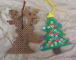 Small Christmas Tree Mushroom Perler Bead Pattern  Bead Sprites Perler Beads Christmas Tree