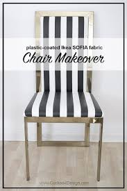 i found these beautiful br parson chairs on craigslist and gave them a chair covers makeover with some wipeable black and white striped ikea fabric
