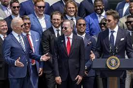 Tom Brady Cracks Joe Biden Jokes During ...