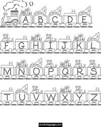 Fabulous Coloring Pages Of The Alphabet J79 44 Antique Free