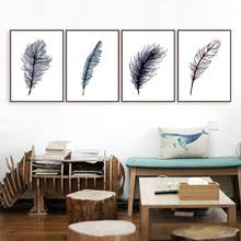 vintage art print wall painting feathers print set different color print art in large wall art on oversized print wall art with buy wall art oversized and get free shipping on aliexpress
