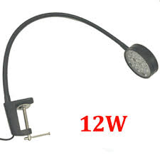 12W <b>110V</b>/<b>220V Flexible</b> Pipe <b>Led</b> Desk Clamp Lamp-in Desk ...