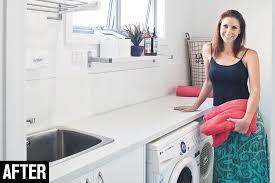 budget laundry renovation australian