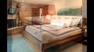 Reclaimed Wood Bed Frame - YouTube