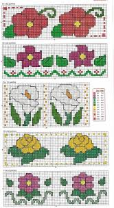 6342 Best Flores Images On Pinterest Cross Stitch Flowers Cross