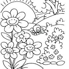 Free Spring Coloring Sheets Free Spring Coloring Pages For Kids To