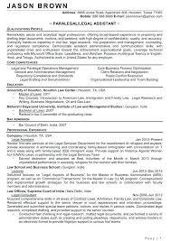Paralegal Resume Sample Resume Bank 2018 Resume Tips Immigration