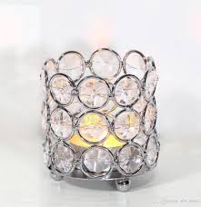 Beaded Tea Light Candle Holders Crystal Beaded Bling Votive Candle Holder Tealight Holder For Wedding Decor Home Decor Gifts Size 6 5x6 5x7 5cm Hwb 2603 Fireplace Candle Holders