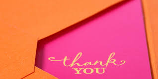Thank You Letter Example Sample Thank You Note For Dinner Attended