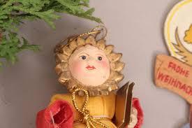 Holzfiguren Christbaumschmuck Anhänger Handbemalt Erzgebirge Weihnachten Deko