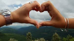 sweet love heart couple kiss full hd