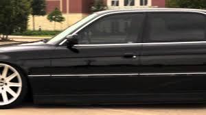 Classy - Slammed BMW E38 - YouTube