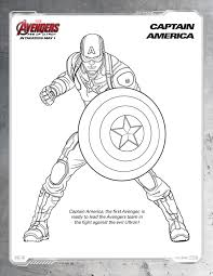 Marvel Printable Coloring Pages Avengers Age Of Ultron The Bandit