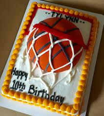 Basketball cake is 1 2 sheet cake basketballcakes