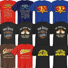 T Shirt Shirts Geburtstagsgeschenke Familie Witzige Lustige Sprüche