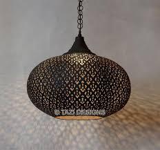 modern moroccan ceiling light fixture by tazi designs california