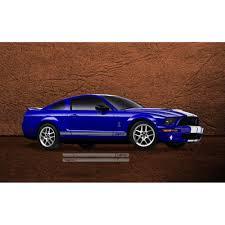 Graphic Express Mustang Rocker Stripe Kit GT500 Style 2005-09