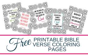 Free Printable Bible Verse Coloring Pages Smart Mom At Home