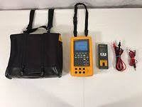 fluke 744 documenting process calibrator hart 275 fluke 744 documenting process calibrator case extra battery leads