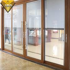china aluminium soundproof door with double glazing glass china soundproof doors aluminium door