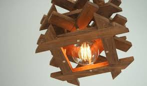 diy wood chandelier finished zoom for reclaimed