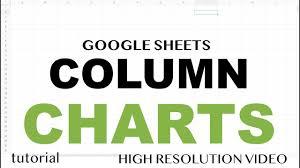 Google Sheets Charts Tutorial Google Sheets Column Charts Bar Chart With Line