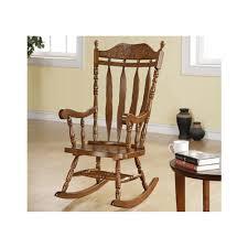 wooden rocking chair. Amazon.com: Monarch Specialties High Solid Wood Rocking Chair, 45-Inch, Dark Walnut: Kitchen \u0026 Dining Wooden Chair 2