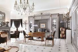 luxurious home office. Stylish And Impressive Luxurious Home Office Design Idea With Artistic Curved Desk L