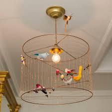 kitchen outstanding cage light chandelier 33 original bird decorative cage light chandelier 2 autumn bronze sea