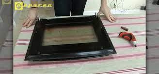 remove and repair a neff oven door