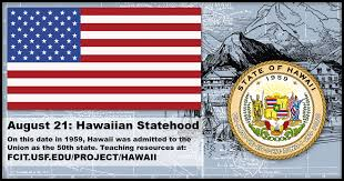 Image result for hawaii becomes the 50th state