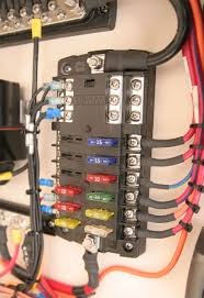 st blade fuse block 12 circuits with negative bus and cover zinsco electrical panel recall at Outdated Fuse Box