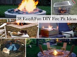 diy fire pits 0