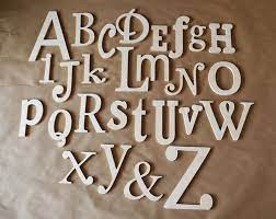 wooden alphabet letters abc wall