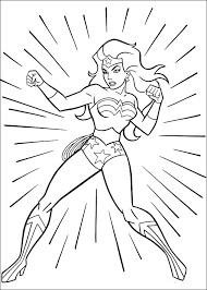 Kids are very fond of superhero coloring sheets. Wonder Woman Coloring Pages Best Coloring Pages For Kids