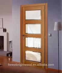 modest decoration wood and glass interior doors glass panel interior doors handballtunisieorg