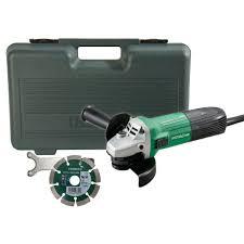 hitachi angle grinder. hitachi g 12stx 4.5 / 115mm angle grinder with diamond blade   powertool world